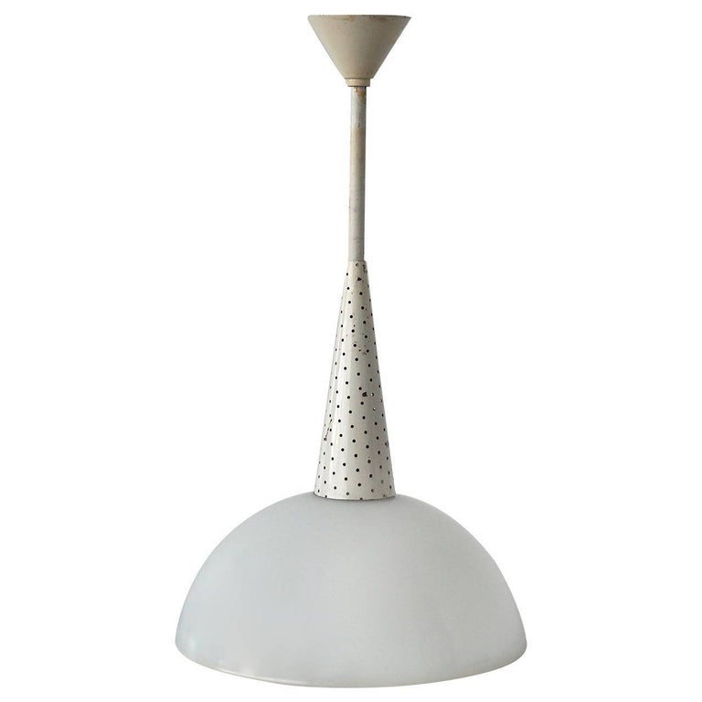 Four Italian Pendant Lights In Good Condition For Sale In Antwerp, BE