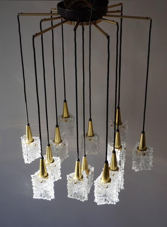 1970s RAAK Chandelier For Sale 2