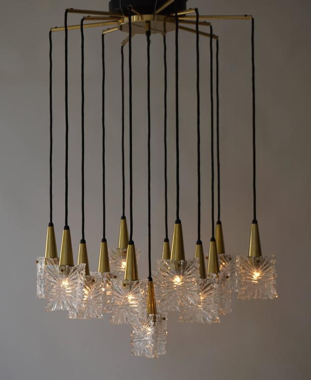 20th Century 1970s RAAK Chandelier For Sale