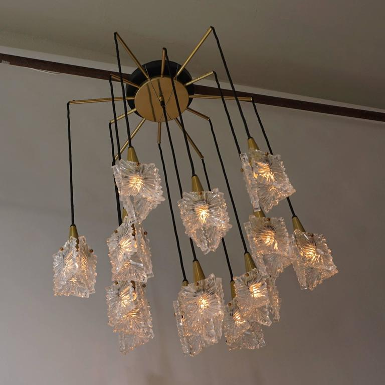 1970s RAAK Chandelier In Excellent Condition For Sale In Antwerp, BE