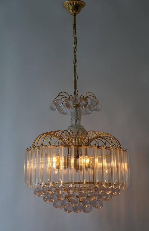 Two Elegant Italian Chandeliers In Good Condition For Sale In Antwerp, BE