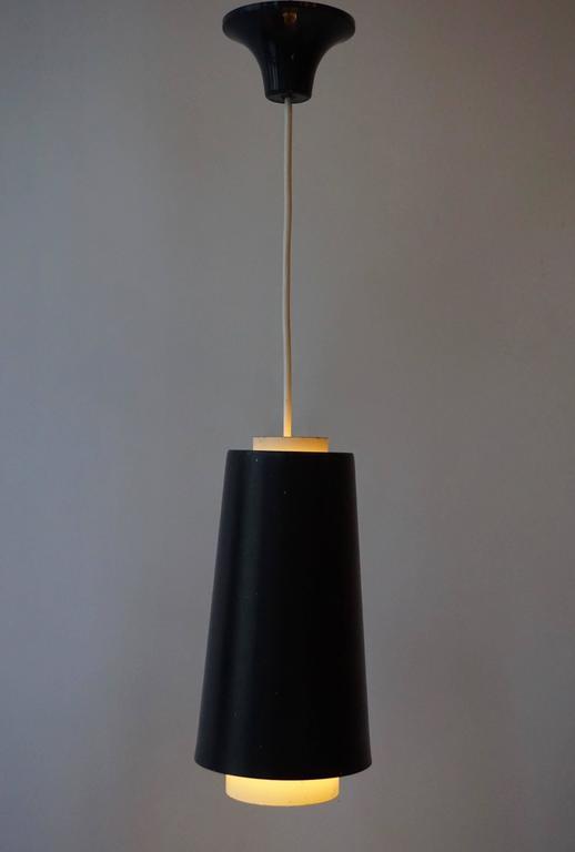 20th Century Set of Three Pendant Lights For Sale