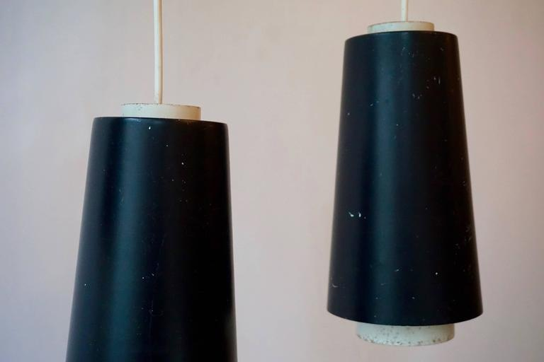 Set of Three Pendant Lights For Sale 3