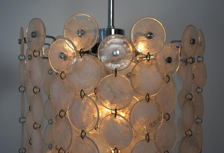 Italian Murano Glass Chandelier For Sale 4