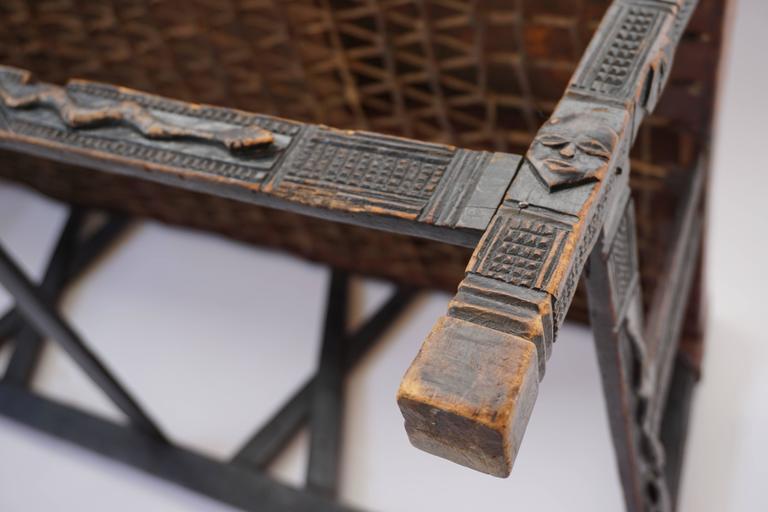 Hardwood Chokwe Bench, Angola, 19th Century For Sale 2