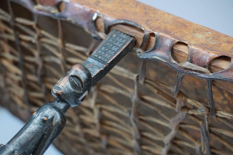 Hardwood Chokwe Bench, Angola, 19th Century For Sale 3