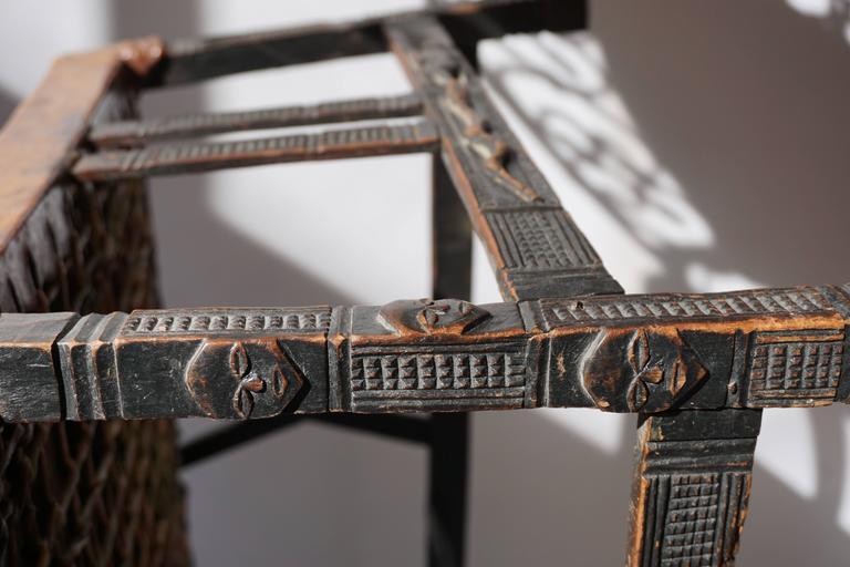 Hardwood Chokwe Bench, Angola, 19th Century For Sale 4