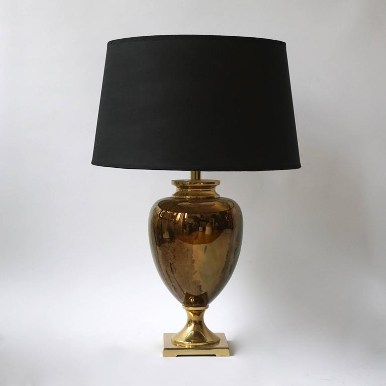 brass table lamps australia pair dauphin glass tab antique for living room amazon