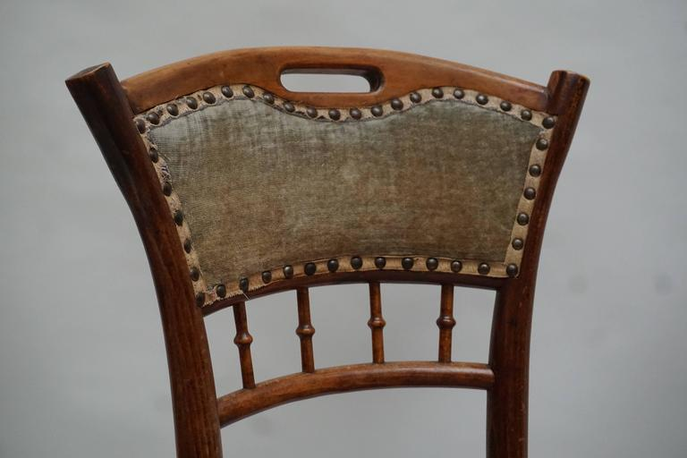 Great Set of 48 Chairs, circa 1900 For Sale 3