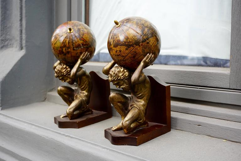 20th Century Pair of Vintage Bookends For Sale