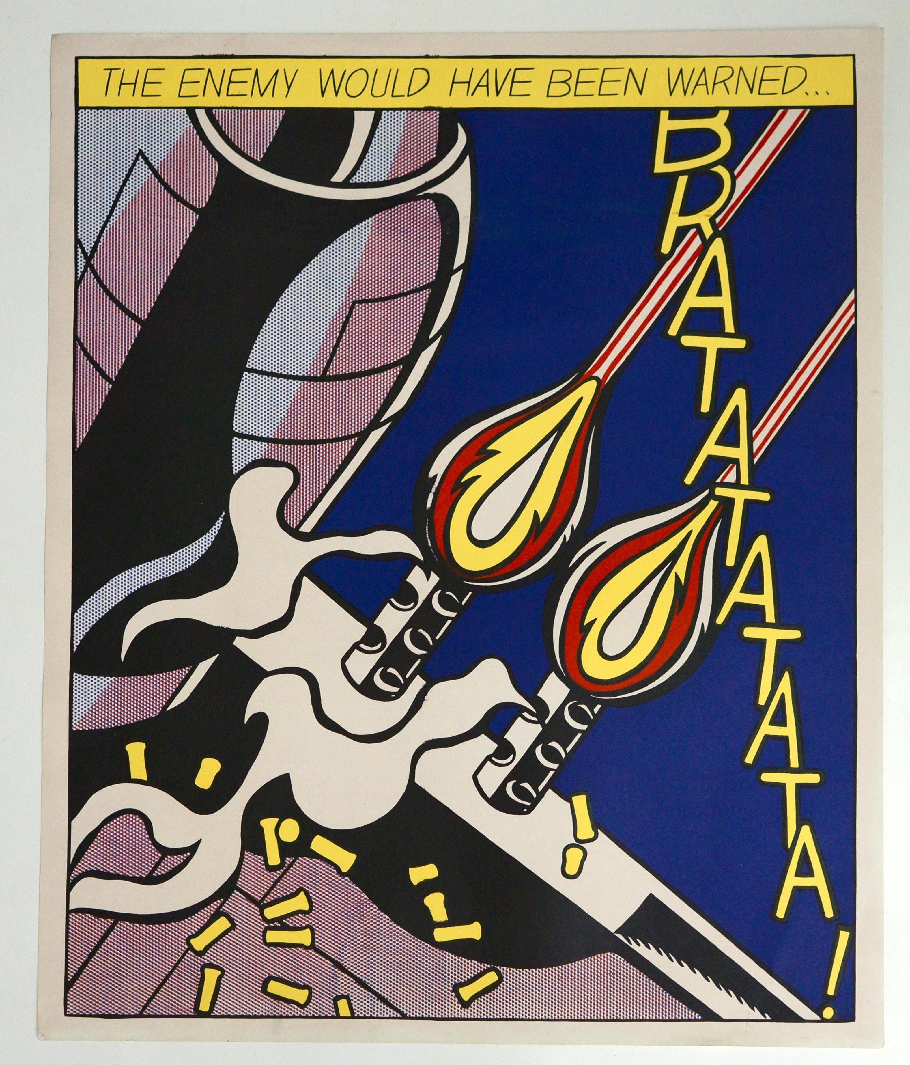 Three Offset Lithographs after Roy Lichtenstein