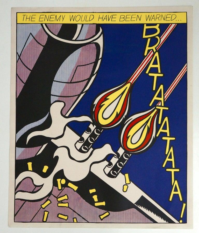 Three Offset Lithographs after Roy Lichtenstein For Sale