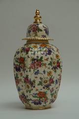 Boch La louveire Ceramic Lidded Jar