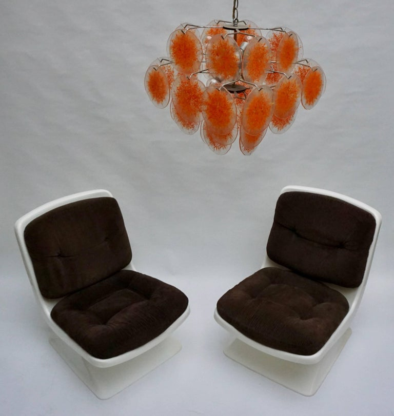 Albert Jacob Lounge Chairs for Grosfillex, 1970 In Good Condition For Sale In Antwerp, BE