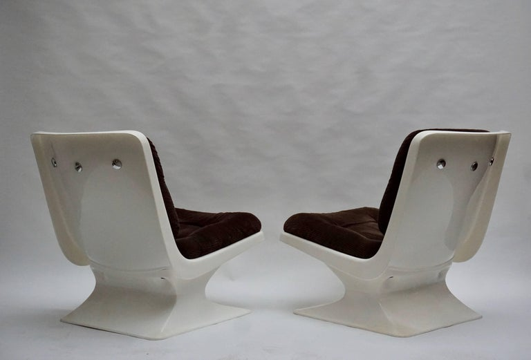 Albert Jacob Lounge Chairs for Grosfillex, 1970 For Sale 3