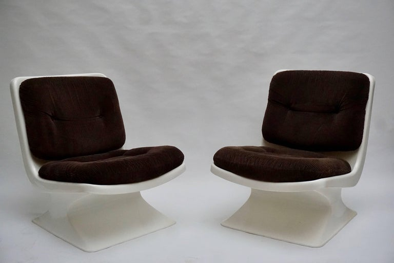 20th Century Albert Jacob Lounge Chairs for Grosfillex, 1970 For Sale