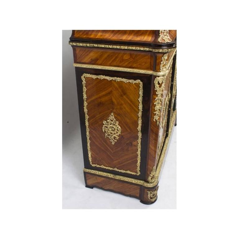 A 19th century French kingwood side cabinet, circa 1860 in date.