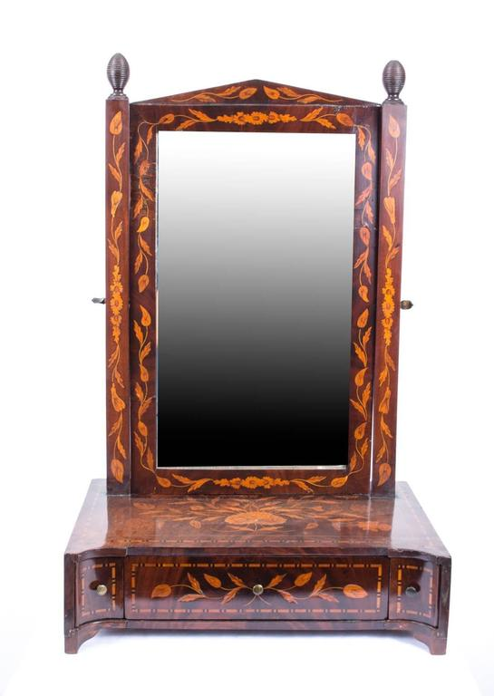 This Is A Beautiful Antique Dutch Dressing Table Mirror Dating From The Late 18th Century