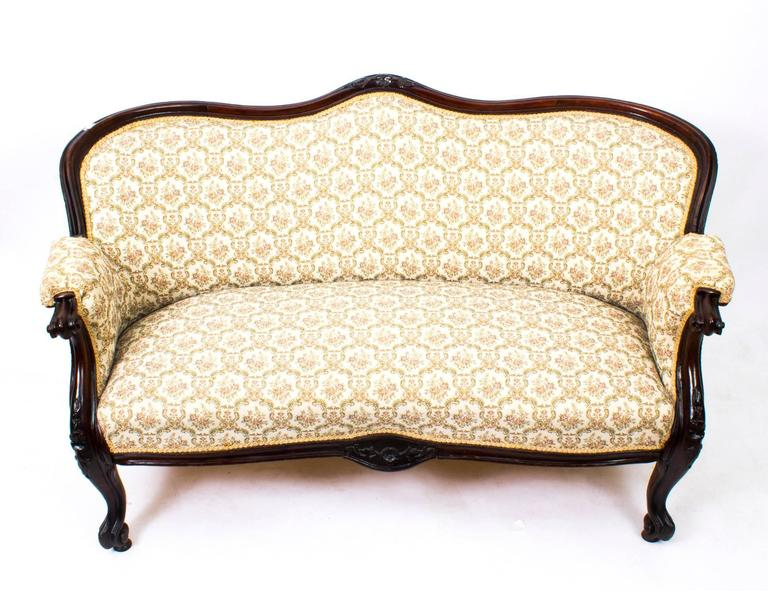 vintage settee for sale antique mahogany two seat settee sofa circa 6862