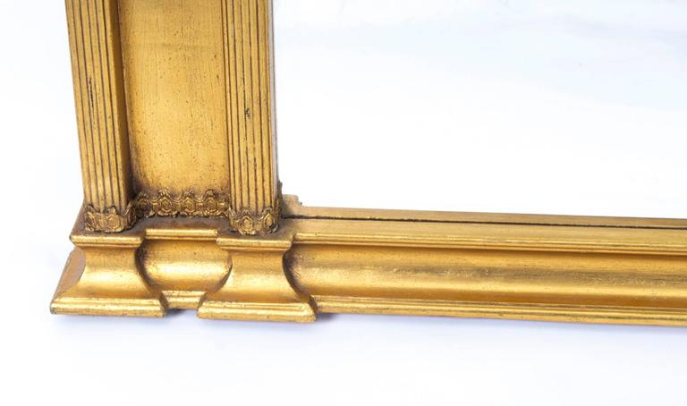 Stunning and elegant large italian gilded mirror at 1stdibs for Miroir 90 x 130