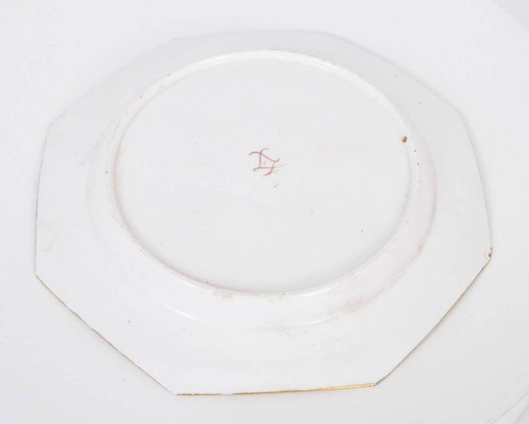Late 19th Century 19th Century Sevres Porcelain Cobalt Blue Porcelain Plate For Sale