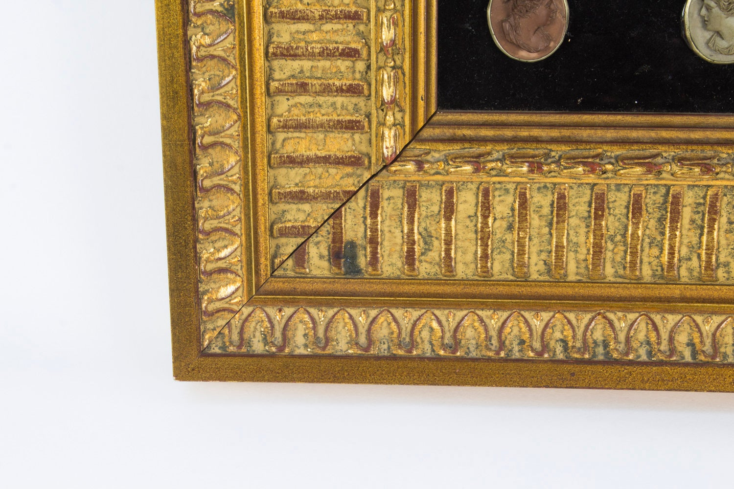 Antique Framed Set of Grand Tour Cameo Plaques, 19th Century at 1stdibs