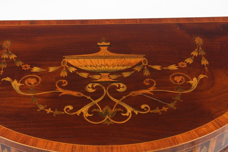 Regency Revival Antique Console Tables 19th Century For Sale