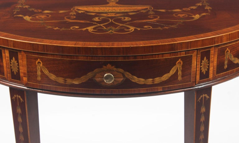English Antique Console Tables 19th Century For Sale