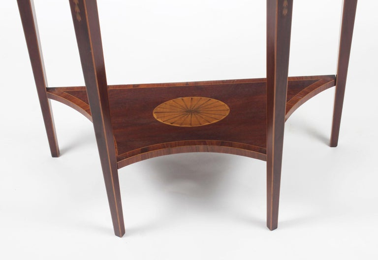 Marquetry Antique Console Tables 19th Century For Sale