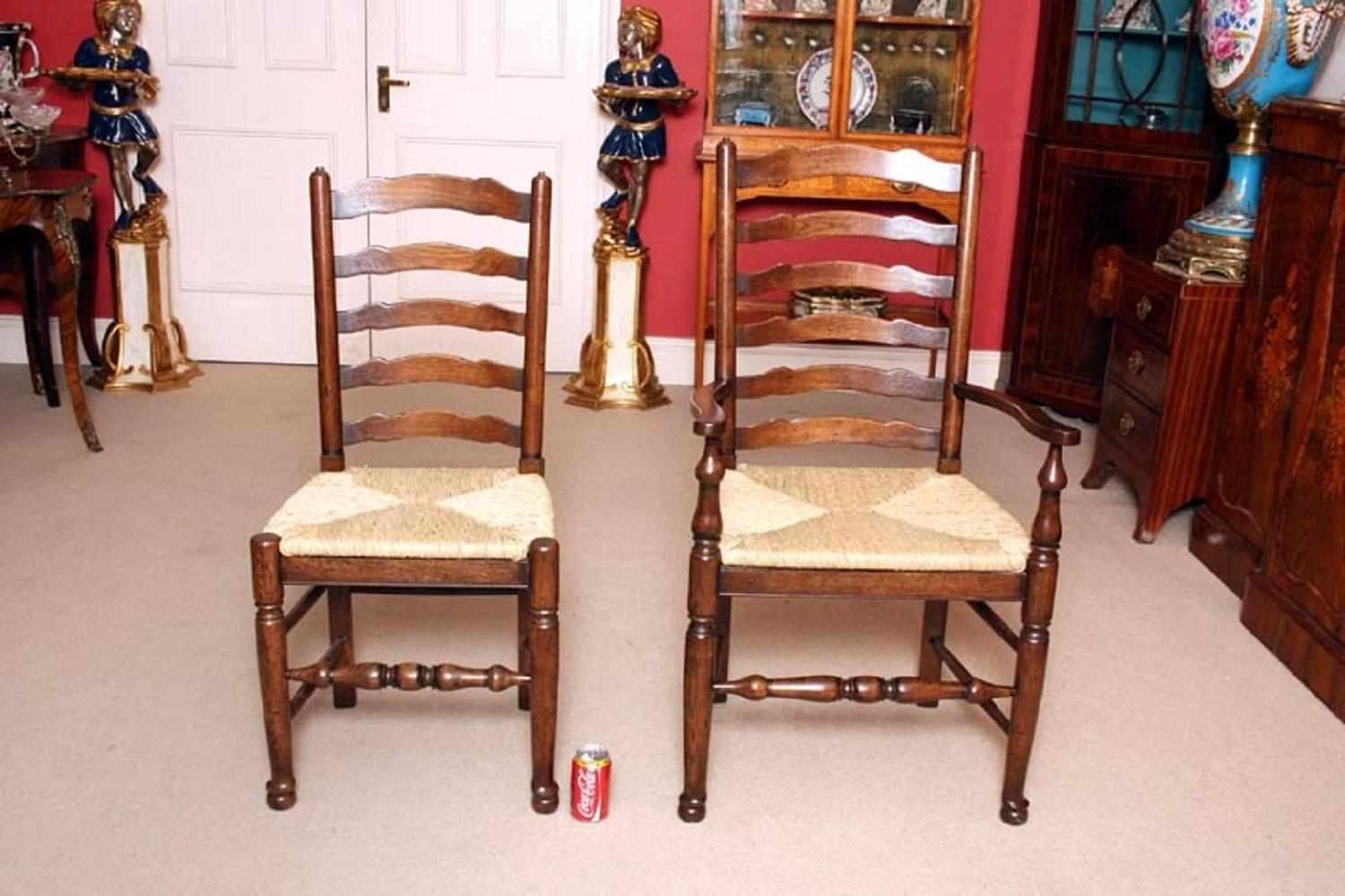 Bespoke Solid Oak Refectory Dining Table And Ten Chairs For Sale At . Full resolution‎  photograph, nominally Width 1500 Height 999 pixels, photograph with #743623.