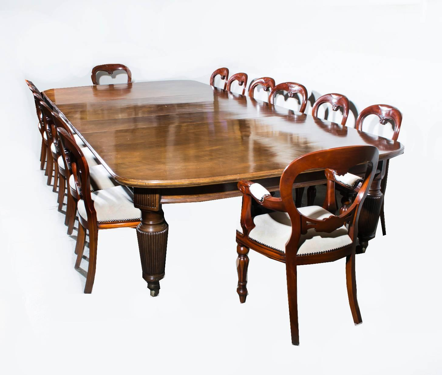 Antique Extending Dining Table Chairs Circa For Sale At