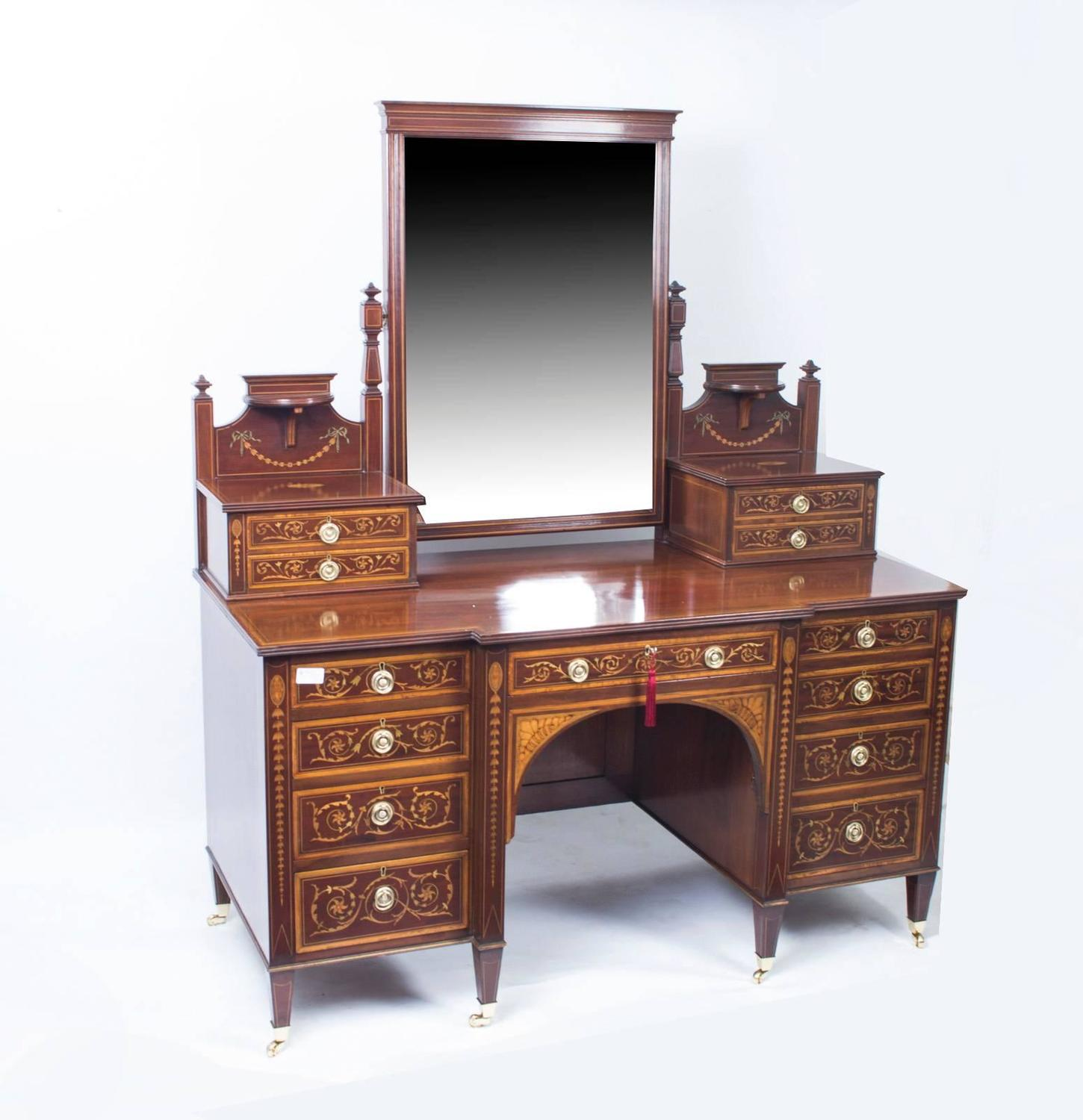 antique victorian bedroom suite maple and co circa 1880