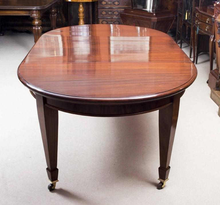Antique Edwardian Mahogany Dining Table Circa 1900 At 1stdibs