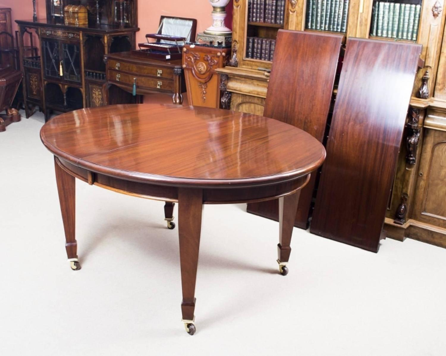Antique edwardian mahogany dining table circa 1900 at 1stdibs dzzzfo