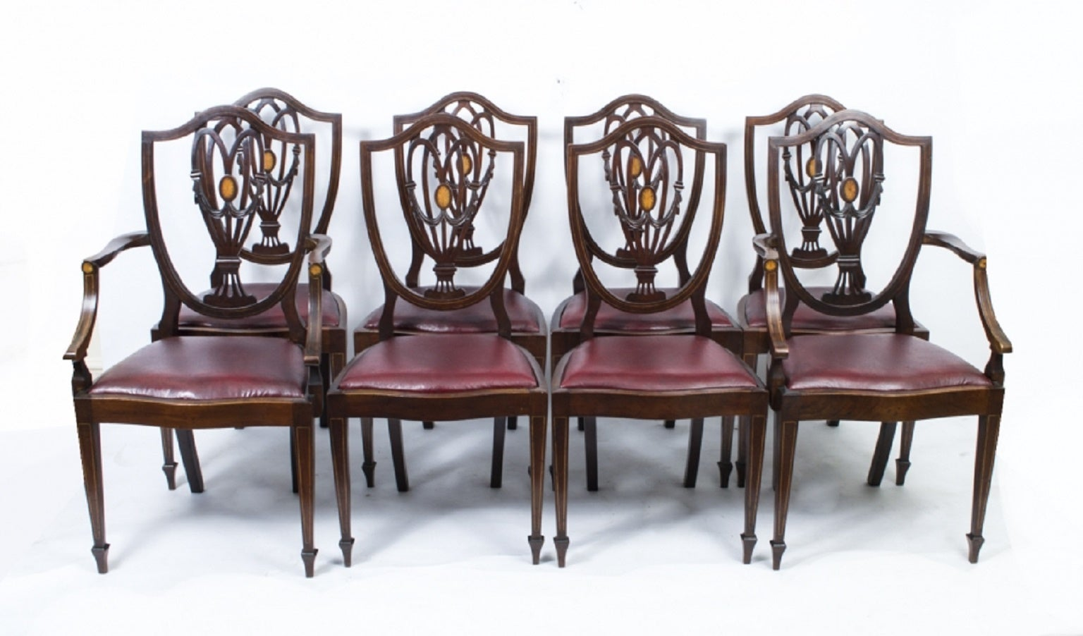 - Antique Edwardian Dining Table With Eight Chairs, Circa 1900 At 1stdibs