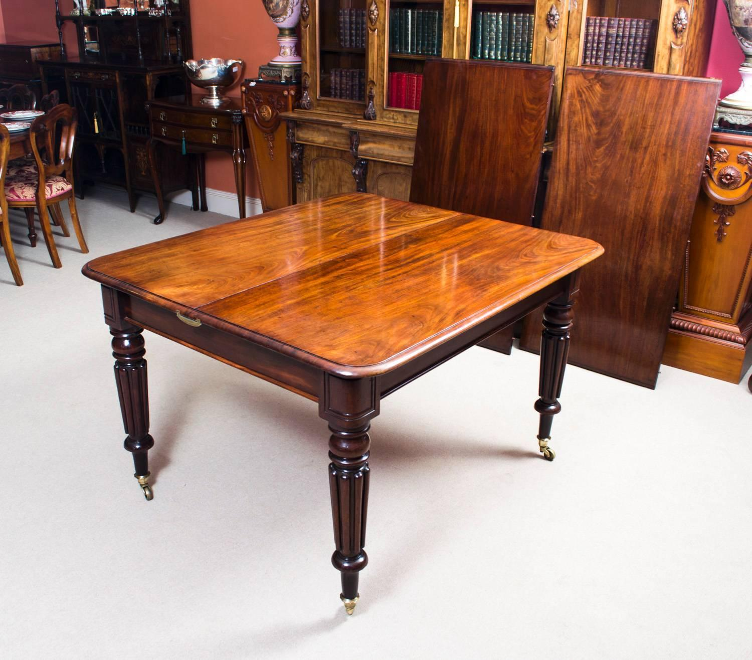- Antique Regency Mahogany Dining Table Eight Admiralty Chairs At 1stdibs