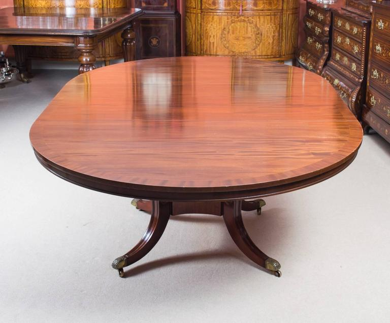 English Vintage Dining Table and Eight Chairs by Arthur Brett & Sons For Sale