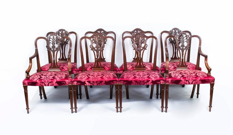 Vintage Dining Table and Eight Chairs by Arthur Brett & Sons 5