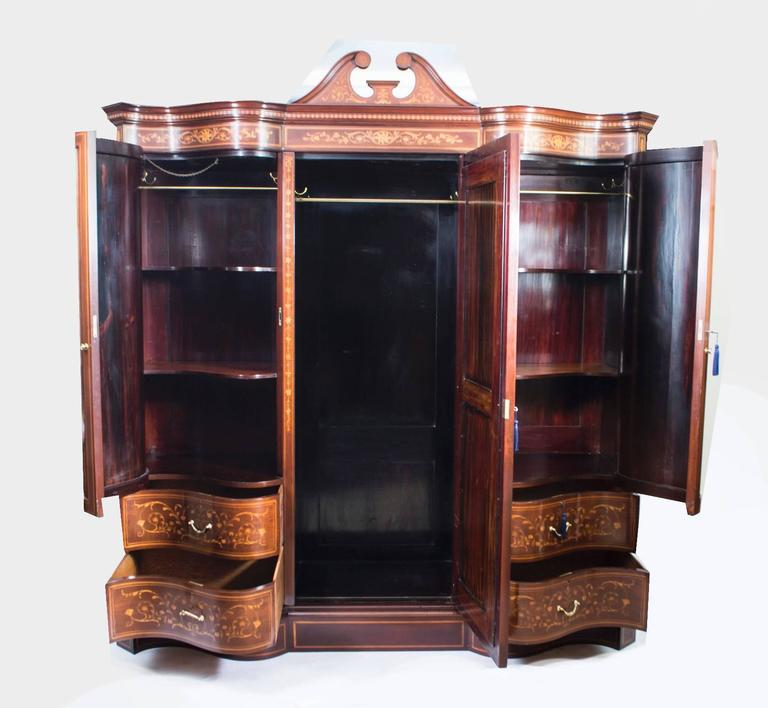 Antique Victorian Bedroom Suite By Edwards And Roberts Circa