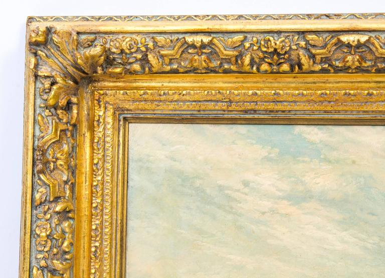 Antique Oil Painting Venice Alfred Pollentine at 1stdibs