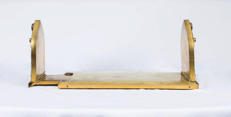 Late 19th Century 19th Century Victorian Ormolu Book Slide Asprey For Sale
