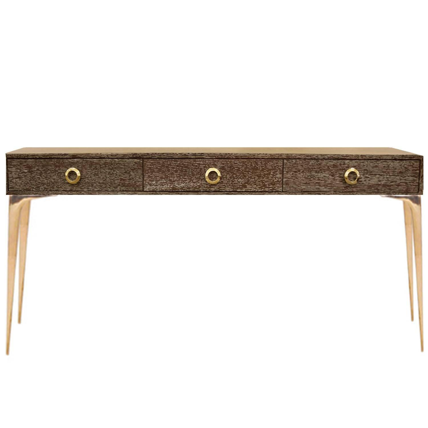 10 incredible modern console tables on 1st dibs for 10 spring street console table
