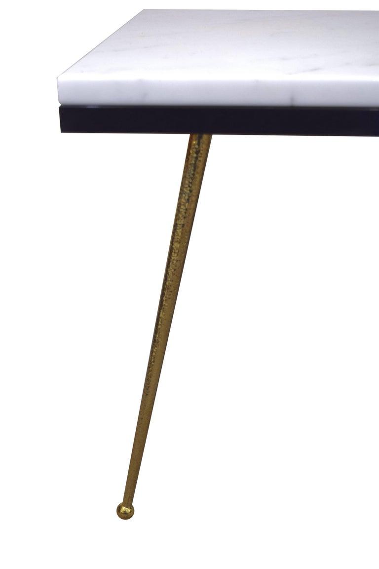 marble vivier coffee table for sale at 1stdibs. Black Bedroom Furniture Sets. Home Design Ideas