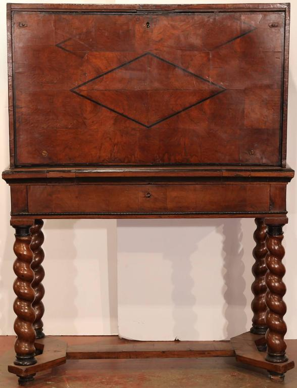 Complete your library or study with this antique fruitwood