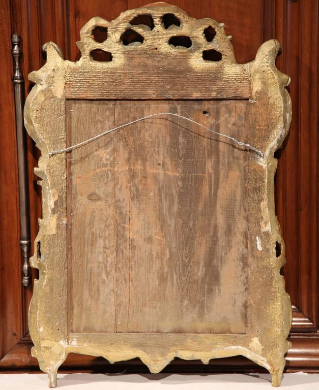 18th Century French Louis XV Carved Giltwood Mirror from Provence 6