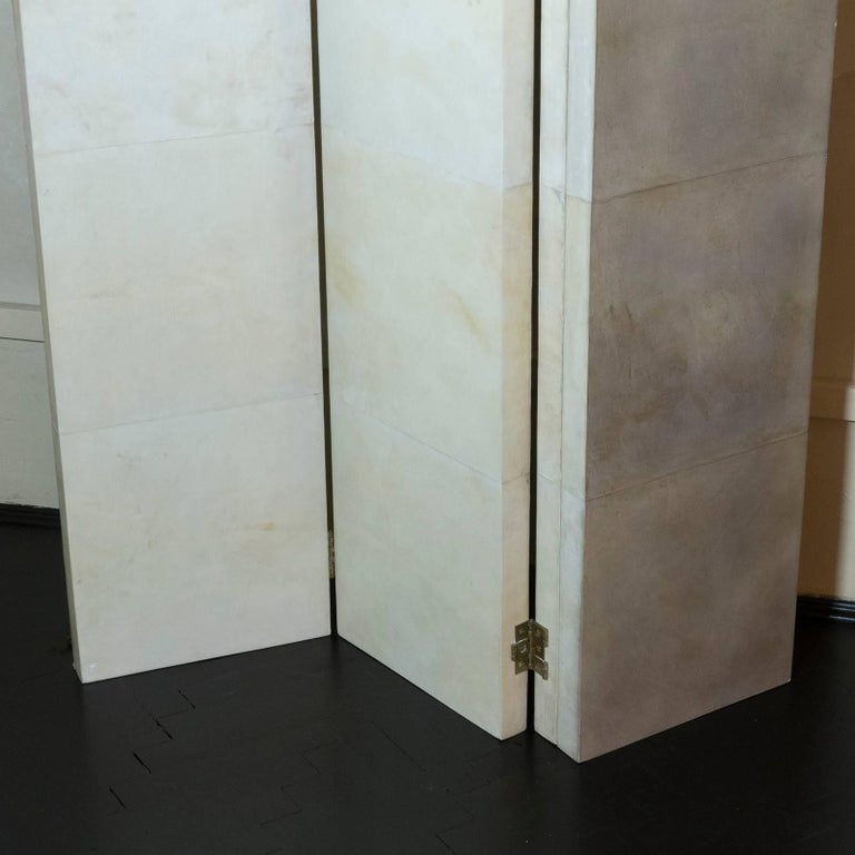 21st Century Parchment Screens In Excellent Condition For Sale In Firenze, IT
