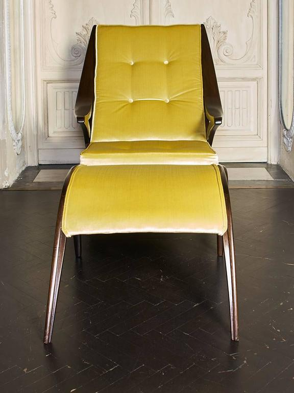 1950s italian chaise lounge at 1stdibs for 1950s chaise lounge