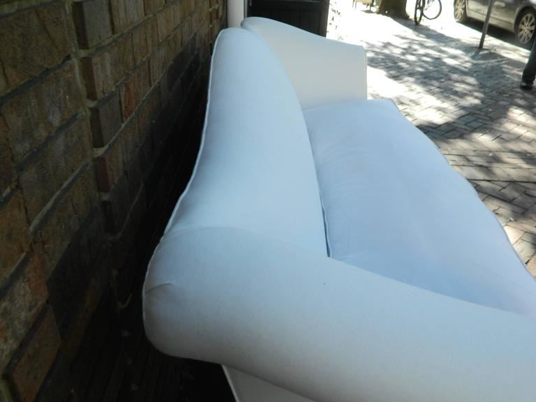 Chippendale Style Camelback Upholstered Sofa, Late 19th Century For Sale 2