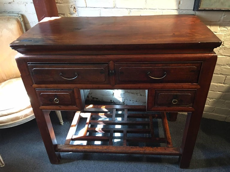 Early 19th century Chinese Scholar's desk or side table.