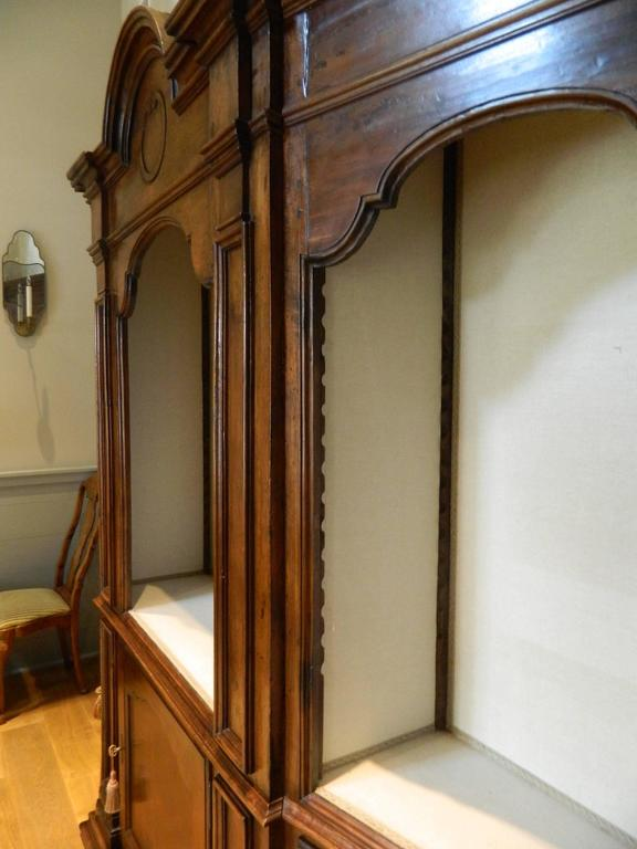 Italianate Three Piece Wall Cabinet Or Breakfront Early